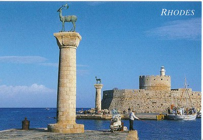 273_Rhodes_Town_Mandraki_Port_protected_by_Hind_and_Deer