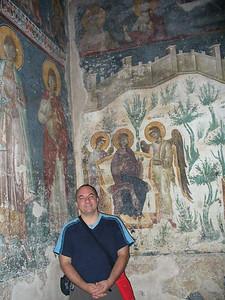 018_Gracanica_Monastery_Frescoes_14th_Century_Papou