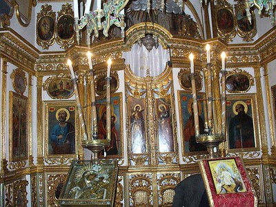 002_Bucharest_Cretulescu_Church_High_Altar