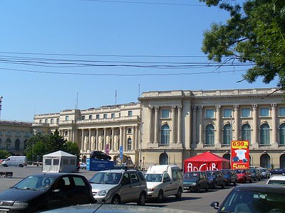 005_Bucharest_The_Royal_Palace_Front_View