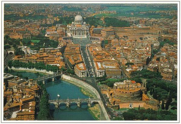0002_Roma_Tiber_St_Angel_Castle_St_Peter_s Baslica