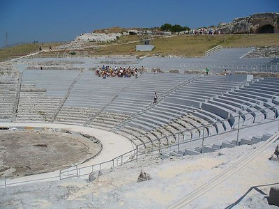 0198_Siracusa_Greek_Theatre_5th _BC_Could_sit_16000_people
