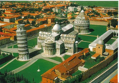 0797_Pisa_Piazza_dei_Miracoli_Aerial_View_Romano_Pisan_style