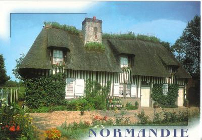 004_Normandie_Chaumiere_typique