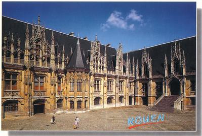 034_Rouen_Palais_Justice_Cour_Interieure_Gothique_1499
