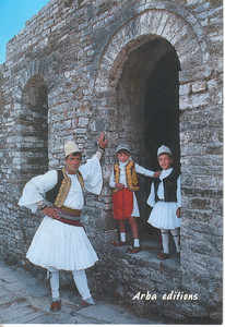 153_South_Albania_Traditional_Man_s_and_Children_Suit