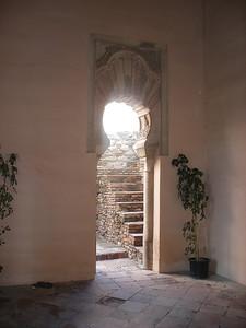 033_Alcazaba  Torre de la Armadura  Stuc Ornamentation