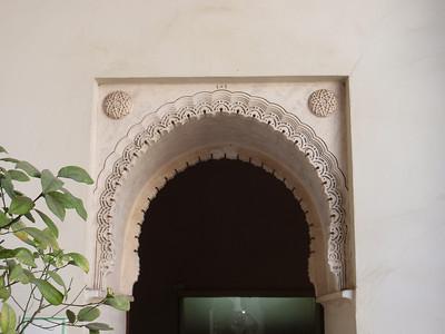 039_Alcazaba  Patio de los Naranjos  Stuc Ornamentation