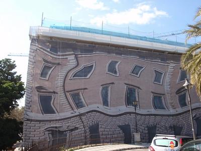 007_Malaga  Building in renovation