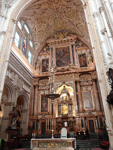 563_Cordoba  The Mezquita  The Cathedral  1523  The Choir