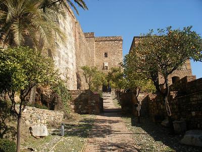 015_Malaga  The Alcazaba  Haza de la Alcazaba