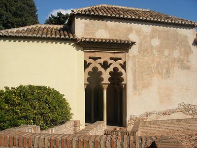 028_Malaga  The Alcazaba  Torre de la Armadura