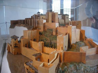 008_Malaga  The Alcazaba  Moorish fortress  11th  C