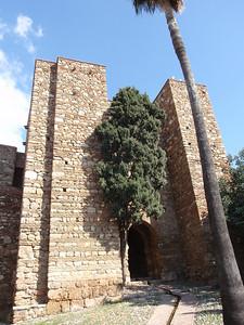 021_Alcazaba  Gate of the Halls of Granada  To upper precinct