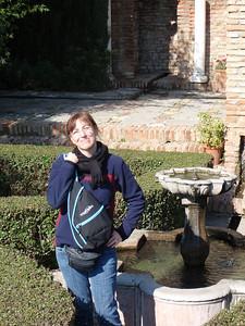 018_Malaga  The Alcazaba  Plaza de Armas  Luce