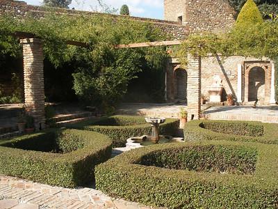 017_Malaga  The Alcazaba  Plaza de Armas