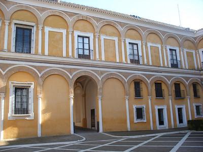 209_Reales Alcazares  Patio de la Monteria  The Main Courtyard