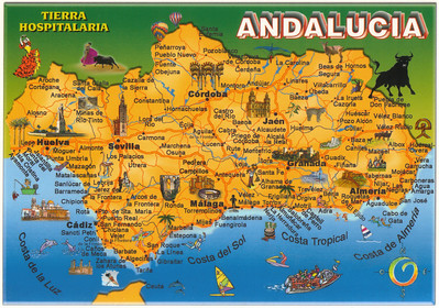 003_Andalucia Map