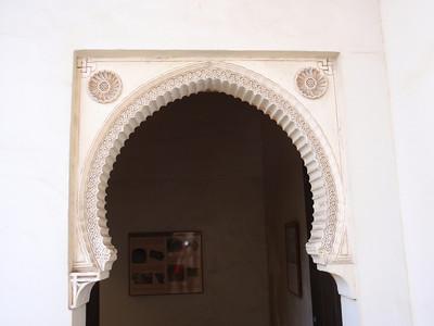 041_Alcazaba  Patio de la Alberca  Stuc Ornamentation