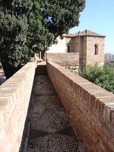 026_Alcazaba  Torre de Maldonada and Torre de la Armadura