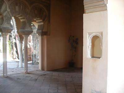 030_Malaga  The Alcazaba  Torre de la Armadura  Mudejar Style
