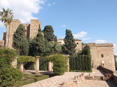 019_Malaga  The Alcazaba  Plaza de Armas