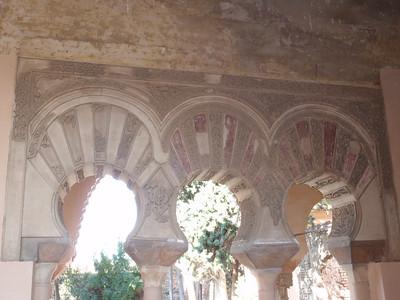 031_Alcazaba  Torre de la Armadura  Stuc Ornamentation