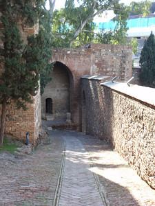 011_Malaga  The Alcazaba  The Way in