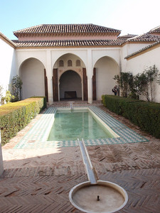 040_Alcazaba  The Nazari Palace  Patio de la Alberca, Pool