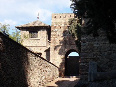 012_Malaga  The Alcazaba  Puerta de la Boveda, Gate of the Vault