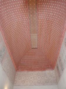 037_Alcazaba  The Nazari Palace  Patio de los Naranjos  A Ceiling