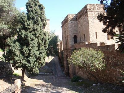 020_Malaga  The Alcazaba  The Silo