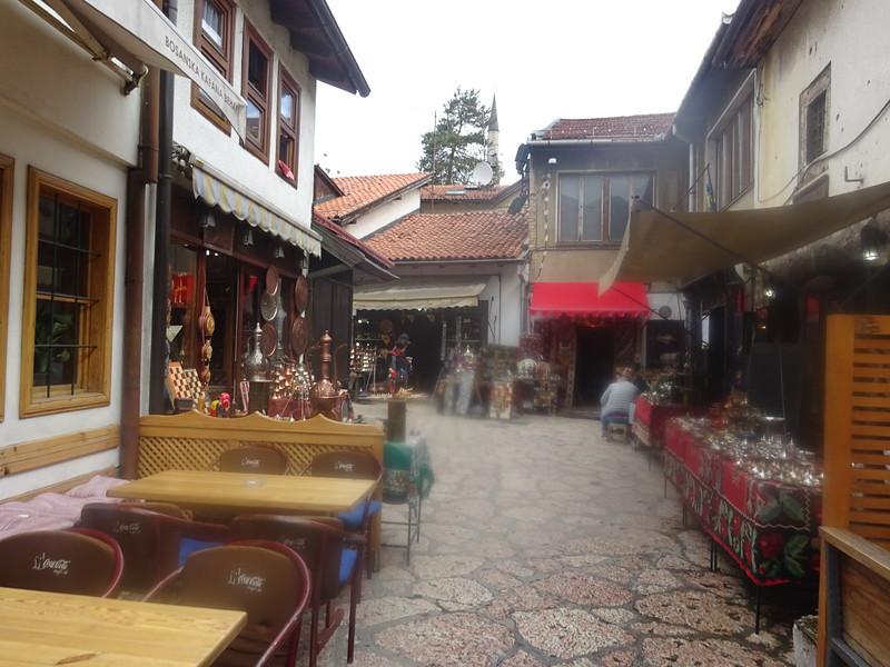 27_Sarajevo  Bascarsija is the heart of Old-Sarajevo