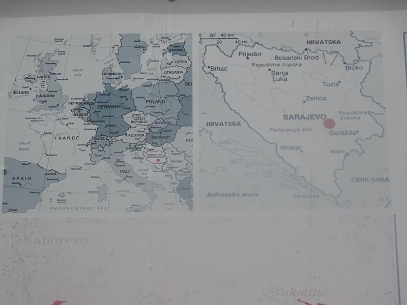 03_Bosnia and Herzegovina  Alomost landlocked, except for 26 kilometres of Adriatic Sea coastline, centered on the town of Neum