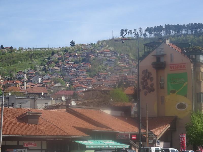 18_Sarajevo  The sun-bathed Golden Valley
