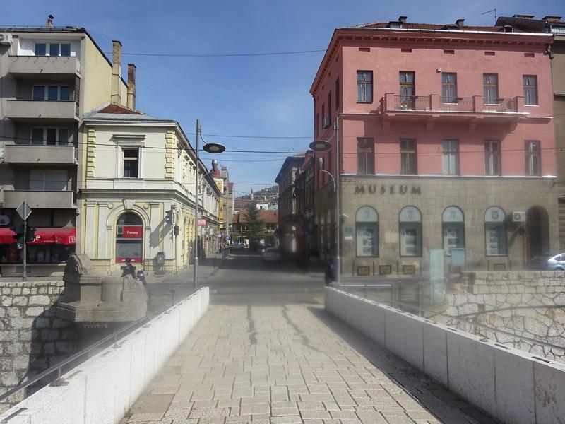 16_Sarajevo  Latin Bridge  1798  On June 28th, 1914  Where Gavrilo Princip shot and killed the Austrian-Hungarian Heir to the Throne Archiduke Franz Ferdinand and wife Sophie