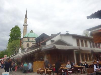 26_Sarajevo  Bascarsija is the heart of Old-Sarajevo