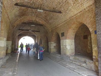 023_Belgrade  The Kalemegdan Turkish citadel  Inner Stambol Gate  1750
