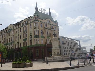 050_Belgrade  City Center  Republic Square  Moscow Hotel