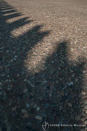 battlements shadows