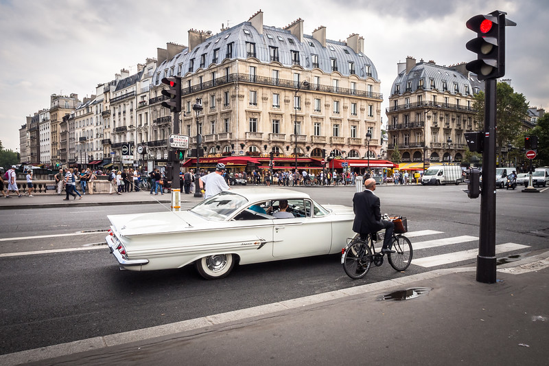 Traffic Stop, Paris
