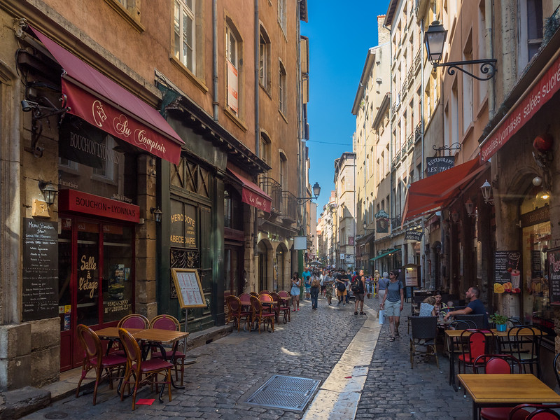 On the Rue Saint-Jean, Lyon, France