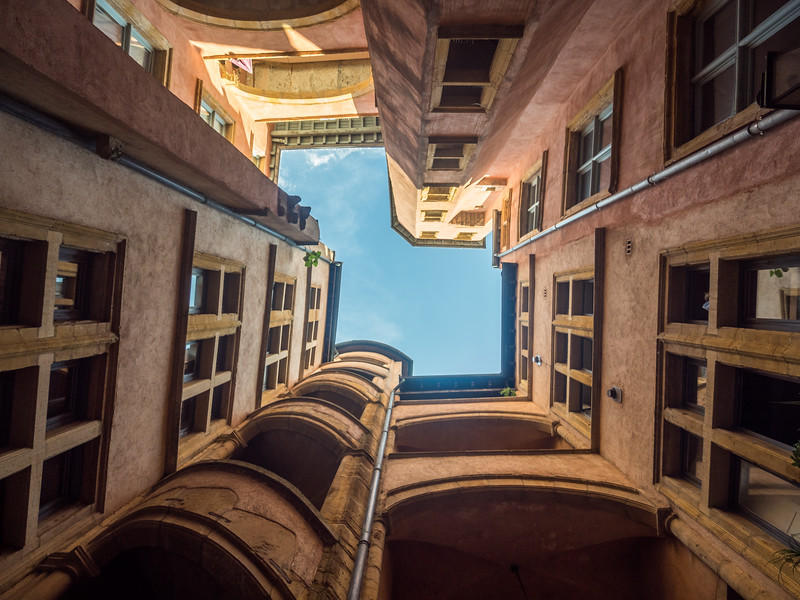 Vertical Courtyard, Lyon, France