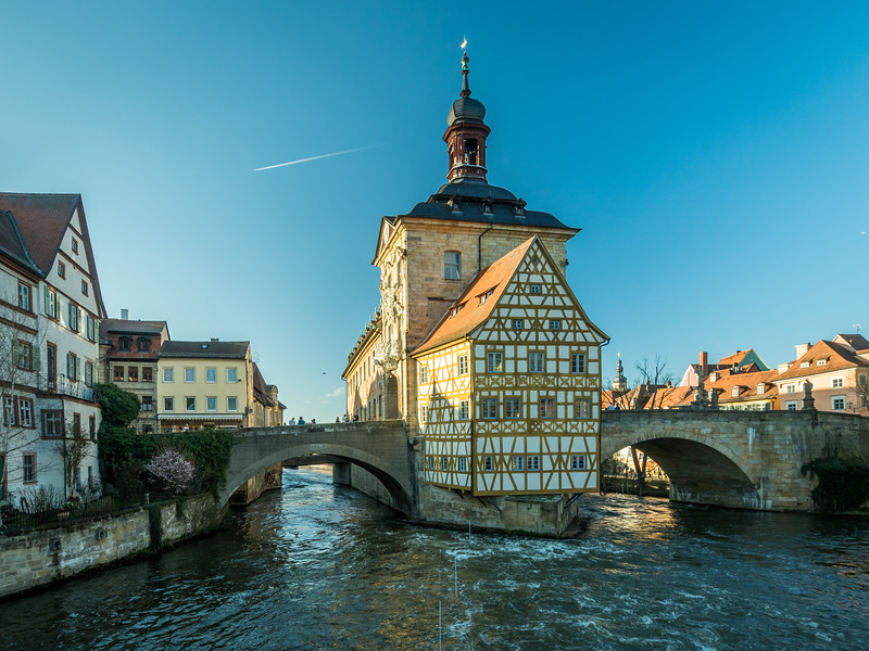 Rathaus on the River, Bamberg, Germany