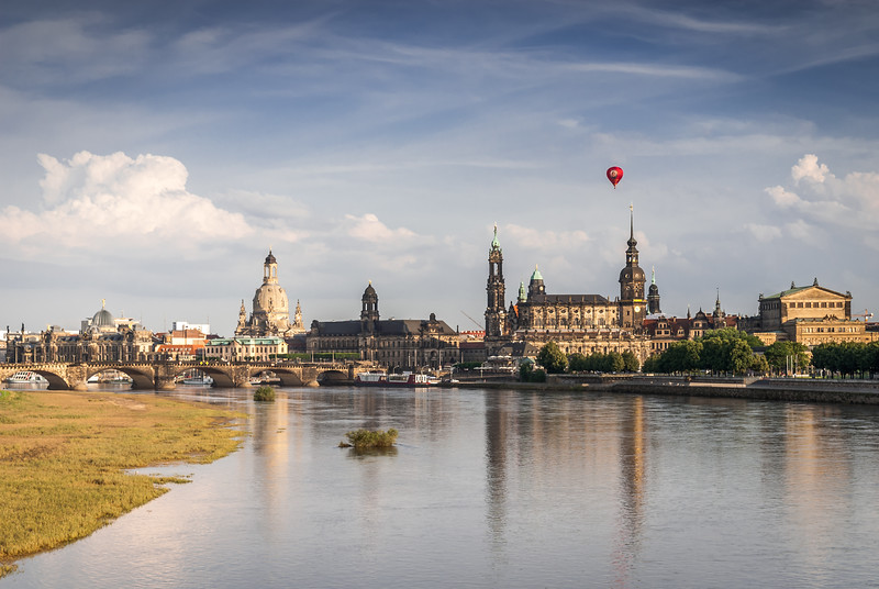 Dresden and the Red Balloon, Germany