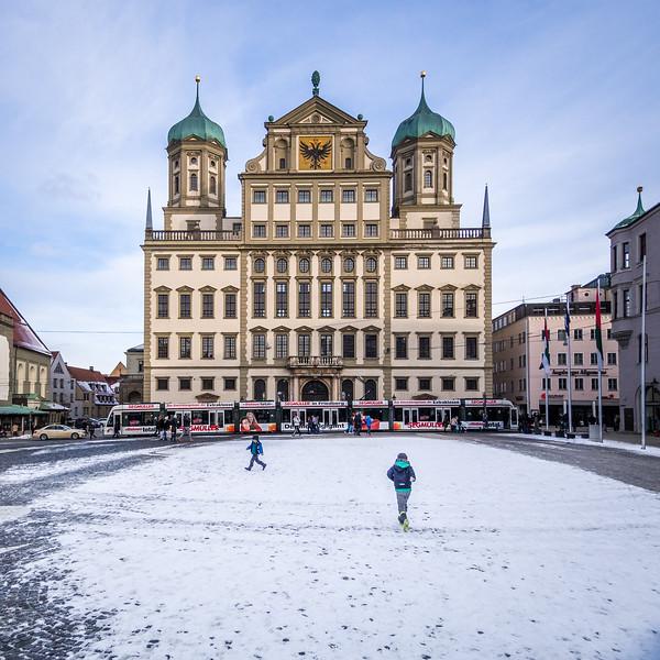 Am Rathaus, Augsburg, Germany
