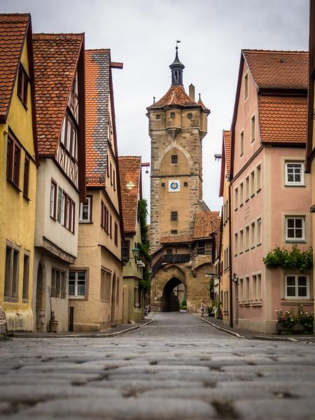 Klingentor, Rothenburg, Germany