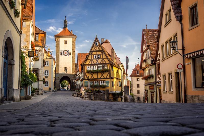 Deutsches Idyll, Rothenburg-ob-der-Tauber, Germany