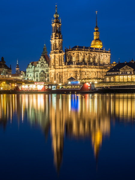 The Hofkirche Reflected, Dresden, Germany