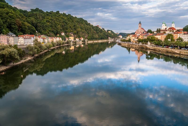 Evening on the Danube, Passau, Germany